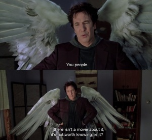 Alan Rickman as Metatron