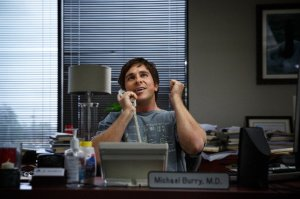 Christian Bale as Michael Burry