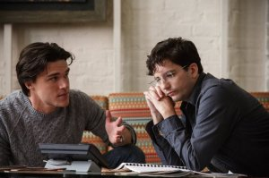 Finn Wittrock as Jamie Shipley and John Magaro as Charlie Geller