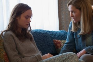 Brie Larson and Joan Allen